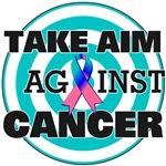 Take Aim Against Thyroid Cancer Shirts & Gifts