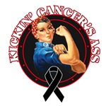 Kickin' Melanoma Cancer's Ass Shirts