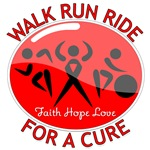 Stroke Disease Walk Run Ride Shirts