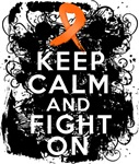 Multiple Sclerosis Keep Calm and Fight On Shirts