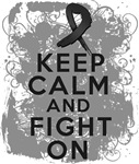 Melanoma Keep Calm Fight On Shirts