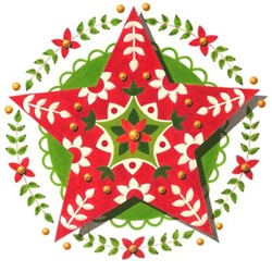 EVERYTHING Folkloric Christmas Star