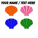 Custom Oyster Shell Pop Art