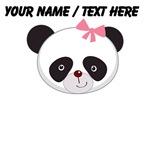 Custom Girl Panda Face