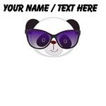 Custom Panda With Sunglasses