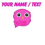 Custom Pink Owl