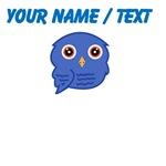 Custom Blue Owl