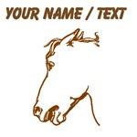 Custom Horse Head Sketch