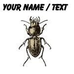 Custom Pasimachus depressus Beetle