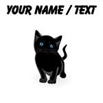 Custom Black Kitten