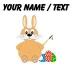 Custom Cartoon Easter Bunny