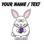 Custom White Easter Bunny