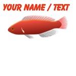 Custom Blood Fish