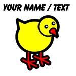 Custom Cartoon Chick