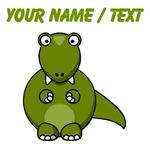 Custom Cartoon T-Rex