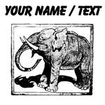Custom Elephant Stamp