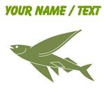 Custom Green Flying Fish