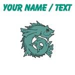 Custom Green Fish