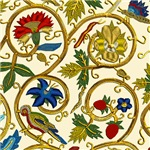 Elizabethan Swirl Embroideries