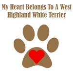 My Heart Belongs To A West Highland White Terrier