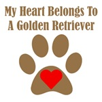 My Heart Belongs To A Golden Retriever