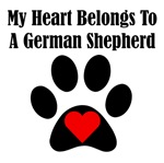 My Heart Belongs To A German Shepherd