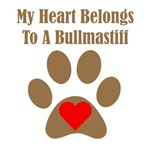 My Heart Belongs To A Bullmastiff