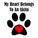 My Heart Belongs To An Akita