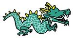 Cartoon Serpent Dragon