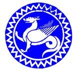 Blue Dragon Circle Icon