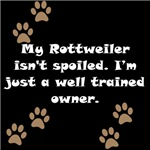 Well Trained Rottweiler Owner