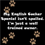 Well Trained English Cocker Spaniel Owner