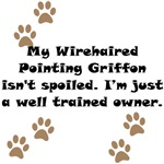 Well Trained Wirehaired Pointing Griffon Owner