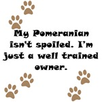 Well Trained Pomeranian Owner