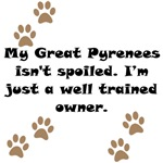 Well Trained Great Pyrenees Owner