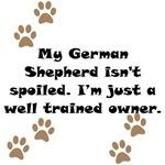 Well Trained German Shepherd Owner