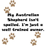 Well Trained Australian Shepherd Owner