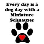 Miniature Schnauzer Dog Day