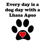 Lhasa Apso Dog Day