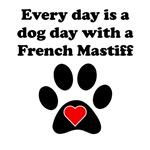 French Mastiff Dog Day