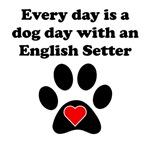 English Setter Dog Day