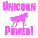 Pink Unicorn Power