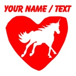 Custom Unicorn Heart
