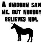 A Unicorn Saw Me