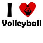 I Heart Volleyball
