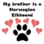 My Brother Is A Norwegian Elkhound