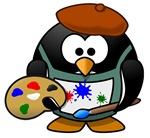 Painter Penguin