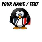 Custom Book Worm Penguin