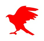 Red Eagle Silhouette