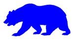 Blue California Bear